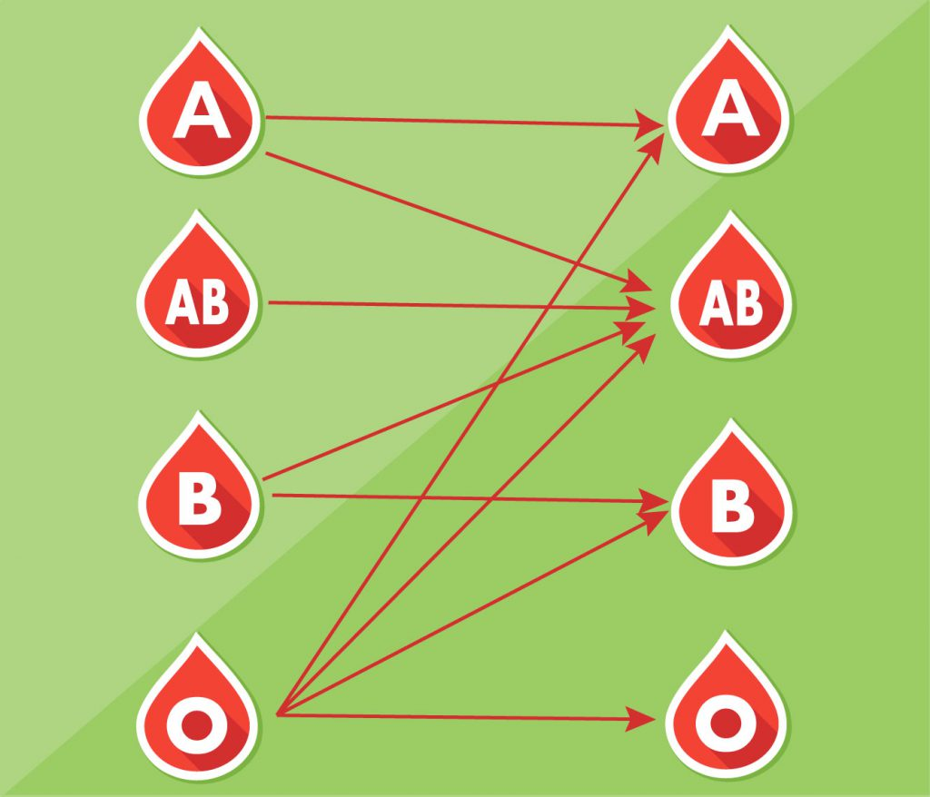 Blood Donation Chart